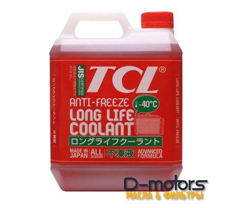 АНТИФРИЗTCL LLC -40С красный (4л)