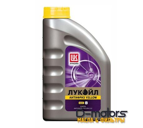 Охлаждающая жидкость Лукойл Антифриз G12 Yellow (1л.)