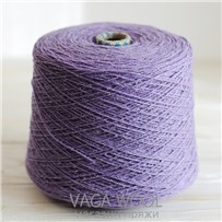 Пряжа City, 006 Сирень, 144м/50г, шерсть ягнёнка, шёлк, Vaga Wool