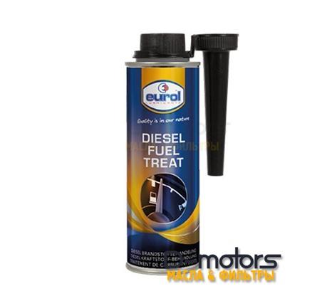 Присадка для защиты топливной системы дизель EUROL Diesel Fuel Treat (250мл.)