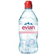 Evian 0,75 упаковка минеральной воды - 6 шт.