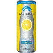 Gasteiner Lemon (с соком лимона) 0,33 упаковка минеральной газированной воды - 24 шт.