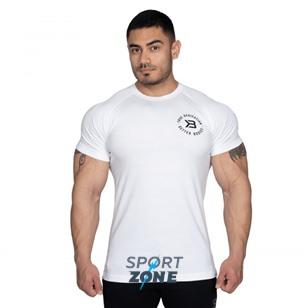 Футболка Better Bodies Gym Tapered Tee, белая