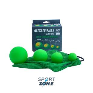 Набор из 4 массажных мячей