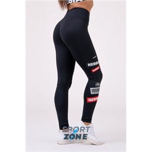 Ne High waist NEBBIA Labels leggings цв.чёрный