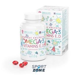 Omega-3  с витаминами Е и D kids 90 capsules