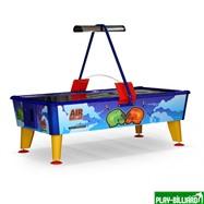 Wik Аэрохоккей «Air Battle» 8 ф (238 х 128 х 83 см, цветной, жетоноприемник/ купюроприемник), интернет-магазин товаров для бильярда Play-billiard.ru