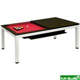 Weekend Стол для пула «Evolution High Tech» 7 ф (венге) со столешницей, в комплекте аксессуары + сукно, интернет-магазин товаров для бильярда Play-billiard.ru
