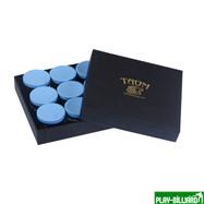 Taom Billiards Мел «Taom Pyro Chalk» синий, интернет-магазин товаров для бильярда Play-billiard.ru. Фото 3