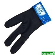 Longoni Перчатка бильярдная «Renzline» (черно-синяя), интернет-магазин товаров для бильярда Play-billiard.ru. Фото 1