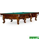 Weekend Бильярдный стол для русского бильярда «Gogard» 12 ф (орех пекан), интернет-магазин товаров для бильярда Play-billiard.ru
