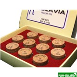 Molavia Наклейка для кия «Molavia» (M) 13 мм, интернет-магазин товаров для бильярда Play-billiard.ru