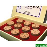 """Наклейка для кия """"Molavia"""" (M) 14 мм, интернет-магазин товаров для бильярда Play-billiard.ru"""