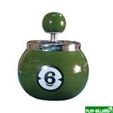Weekend Пепельница «Шестерка» (керамическая), интернет-магазин товаров для бильярда Play-billiard.ru