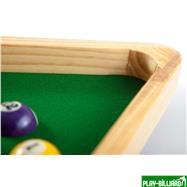 Weekend Часы настенные «Треугольник» (дуб) 40 см х 35 см, деревянные, интернет-магазин товаров для бильярда Play-billiard.ru. Фото 6