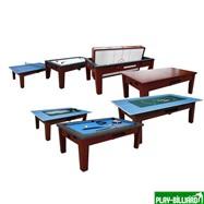 Игровой стол - многофункциональный «Dybior Mistral» (коричневый), интернет-магазин товаров для бильярда Play-billiard.ru. Фото 1