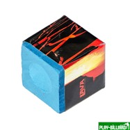 Weekend Мел «Lava» (2 шт) синий, интернет-магазин товаров для бильярда Play-billiard.ru. Фото 3