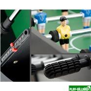 Weekend Настольный футбол (кикер) «Hannover»  (97x54x35см, черный), интернет-магазин товаров для бильярда Play-billiard.ru. Фото 3
