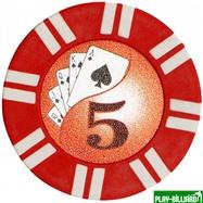 Набор для покера Royal Flush на 1000 фишек, интернет-магазин товаров для бильярда Play-billiard.ru. Фото 3