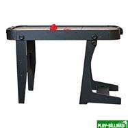 Аэрохоккей «Jersey» 4 ф (122 х 60 х 76,5 см, черный, складной), интернет-магазин товаров для бильярда Play-billiard.ru. Фото 3
