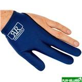 Longoni Перчатка бильярдная «RenzLine Bicolor» (синяя), интернет-магазин товаров для бильярда Play-billiard.ru