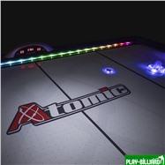 Atomic Аэрохоккей «Atomic Top Shelf» 7.5 ф (228 х 124 х 80 см, черный), интернет-магазин товаров для бильярда Play-billiard.ru. Фото 4