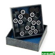 Kamui Наклейка для кия «Kamui Clear Black» (SS) 13 мм, интернет-магазин товаров для бильярда Play-billiard.ru. Фото 2