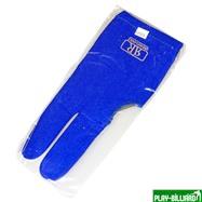 Longoni Перчатка бильярдная «Renzline Start Blue» (синяя), интернет-магазин товаров для бильярда Play-billiard.ru. Фото 4