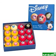 Aramith Saluc Комплект шаров 57.2 мм «Aramith Disney», интернет-магазин товаров для бильярда Play-billiard.ru