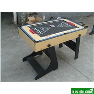 Многофункциональный игровой стол (119 х 61 х 81 см, светлый), интернет-магазин товаров для бильярда Play-billiard.ru. Фото 4