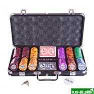 Набор для покера Tournament на 300 фишек, интернет-магазин товаров для бильярда Play-billiard.ru. Фото 1
