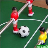 Weekend Настольный футбол (кикер) «Junior» (69х37х24 см, коричневый), интернет-магазин товаров для бильярда Play-billiard.ru. Фото 3