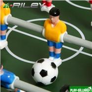 Riley Настольный футбол (кикер) «Riley» (46х30х10 см, черный), интернет-магазин товаров для бильярда Play-billiard.ru. Фото 4
