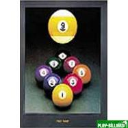 """Постер """"High Nine"""", интернет-магазин товаров для бильярда Play-billiard.ru"""
