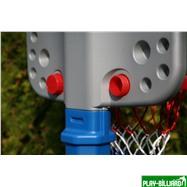 Weekend Баскетбольный щит на регулируемой опоре «Deluxe Basketball» (с мячом для мини-баскетбола), интернет-магазин товаров для бильярда Play-billiard.ru. Фото 7