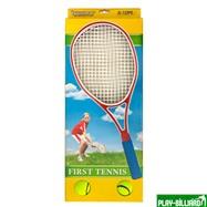 Weekend Набор для большого тенниса «First Tennis» (с пластиковыми ракетками), интернет-магазин товаров для бильярда Play-billiard.ru. Фото 1