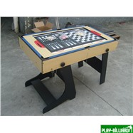 Многофункциональный игровой стол (119 х 61 х 81 см, светлый), интернет-магазин товаров для бильярда Play-billiard.ru. Фото 5