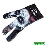 Longoni Перчатка бильярдная «Longoni Fancy Skull 1», интернет-магазин товаров для бильярда Play-billiard.ru