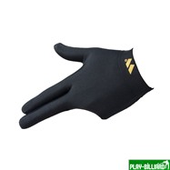 Weekend Перчатка бильярдная «WB» (черная), защита от скольжения, интернет-магазин товаров для бильярда Play-billiard.ru. Фото 1