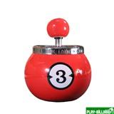 Weekend Пепельница «Тройка» (керамическая), интернет-магазин товаров для бильярда Play-billiard.ru