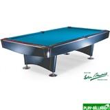 Weekend Бильярдный стол для пула «Reno» 9 ф (черный, сукно «Iwan Simonis 860»), интернет-магазин товаров для бильярда Play-billiard.ru