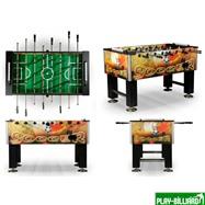 Настольный футбол (кикер) «Roma II» (140x76x87 см, цветной), интернет-магазин товаров для бильярда Play-billiard.ru. Фото 3