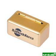 Ball Teck Мел «Ball teck PRO II» (2 шт, в золотистой металлической коробке) синий, интернет-магазин товаров для бильярда Play-billiard.ru. Фото 9