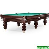 Weekend Бильярдный стол для русского бильярда «Turin» 10 ф (махагон), интернет-магазин товаров для бильярда Play-billiard.ru