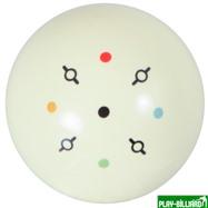 """Classic Шар 57.2 мм """"Training I"""" для тренировок, белый, интернет-магазин товаров для бильярда Play-billiard.ru"""