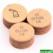 Moori Наклейка для кия «Moori» (Q) 14 мм, интернет-магазин товаров для бильярда Play-billiard.ru. Фото 1
