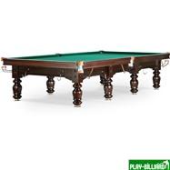 Бильярдный стол для русского бильярда «Classic II» 12 ф (черный орех), интернет-магазин товаров для бильярда Play-billiard.ru