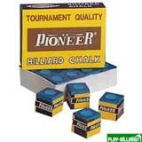 Weekend Мел «Pioner» (12 шт) синий, интернет-магазин товаров для бильярда Play-billiard.ru