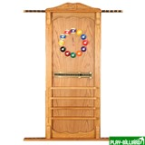Weekend Киевница навесная с полкой для шаров (дуб, 137 х 99 х 8 см), интернет-магазин товаров для бильярда Play-billiard.ru