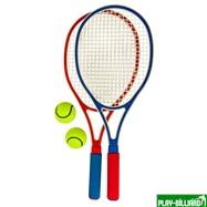 Weekend Набор для большого тенниса «First Tennis» (с пластиковыми ракетками), интернет-магазин товаров для бильярда Play-billiard.ru. Фото 2